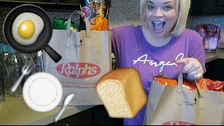 New Couch, Getting Settled, & Grocery Haul