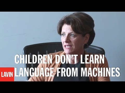 Susan Pinker: Children Don't Learn Language from Machines