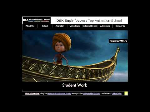 DSK International Campus Top Animation School in India