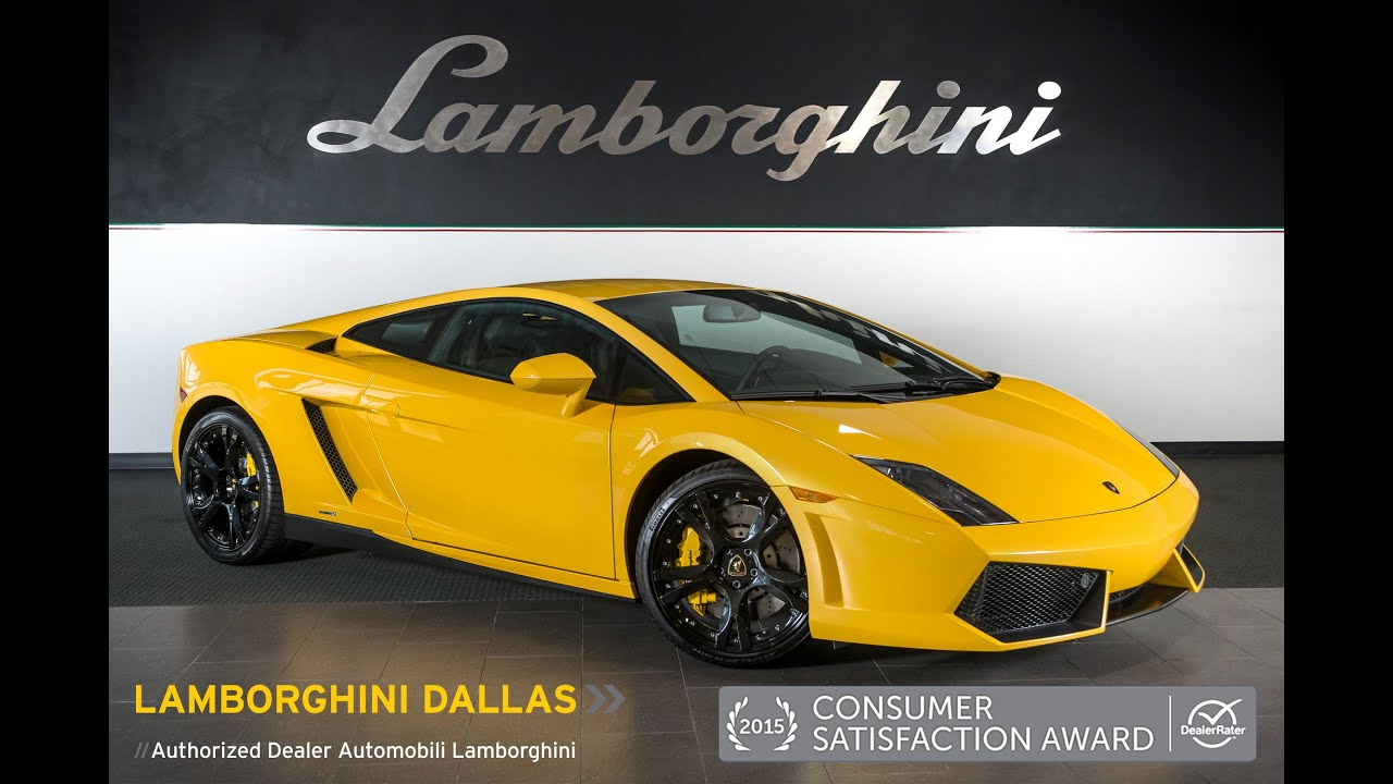 2013 Lamborghini Gallardo LP 550 2 Giallo Midas L0775 18L0054A   YouTube