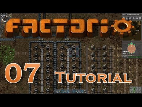 Factorio (0.15) | Let's Play Beginners Guide - 07 - Basic Oil Refining