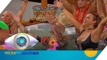 Die Bewohner ESKALIEREN | Promi Big Brother 2016 | SAT.1