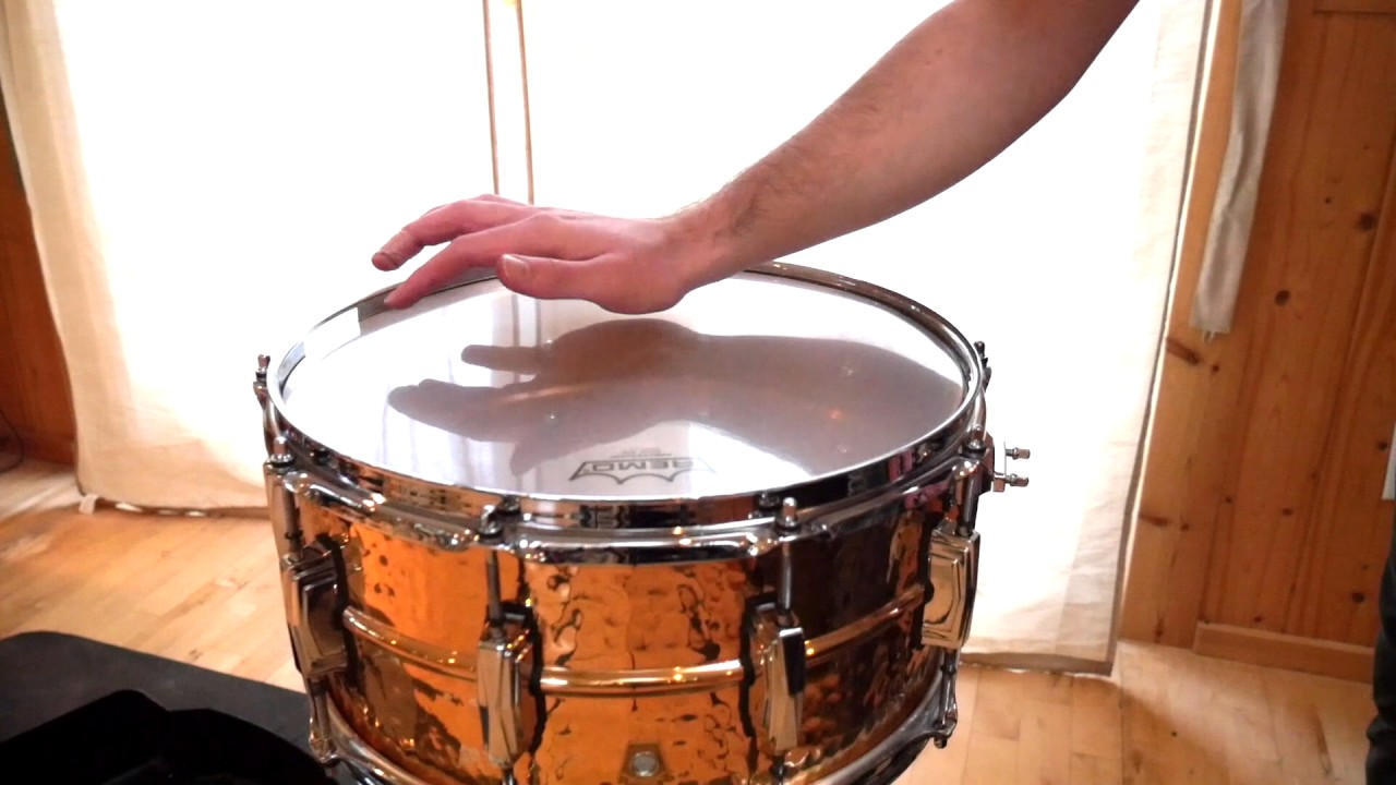 Snare Drum Tuning - YouTube