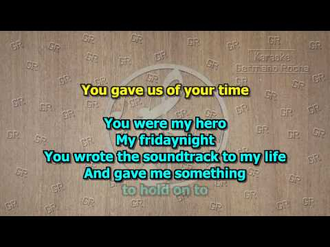 Europe - Hero (Karaoke)