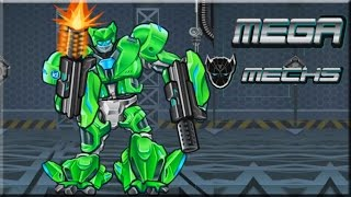 Mega Mechs Assembling Game (Gameplay)