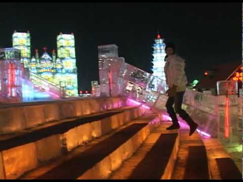 A Day and Night at the Harbin Ice Festival