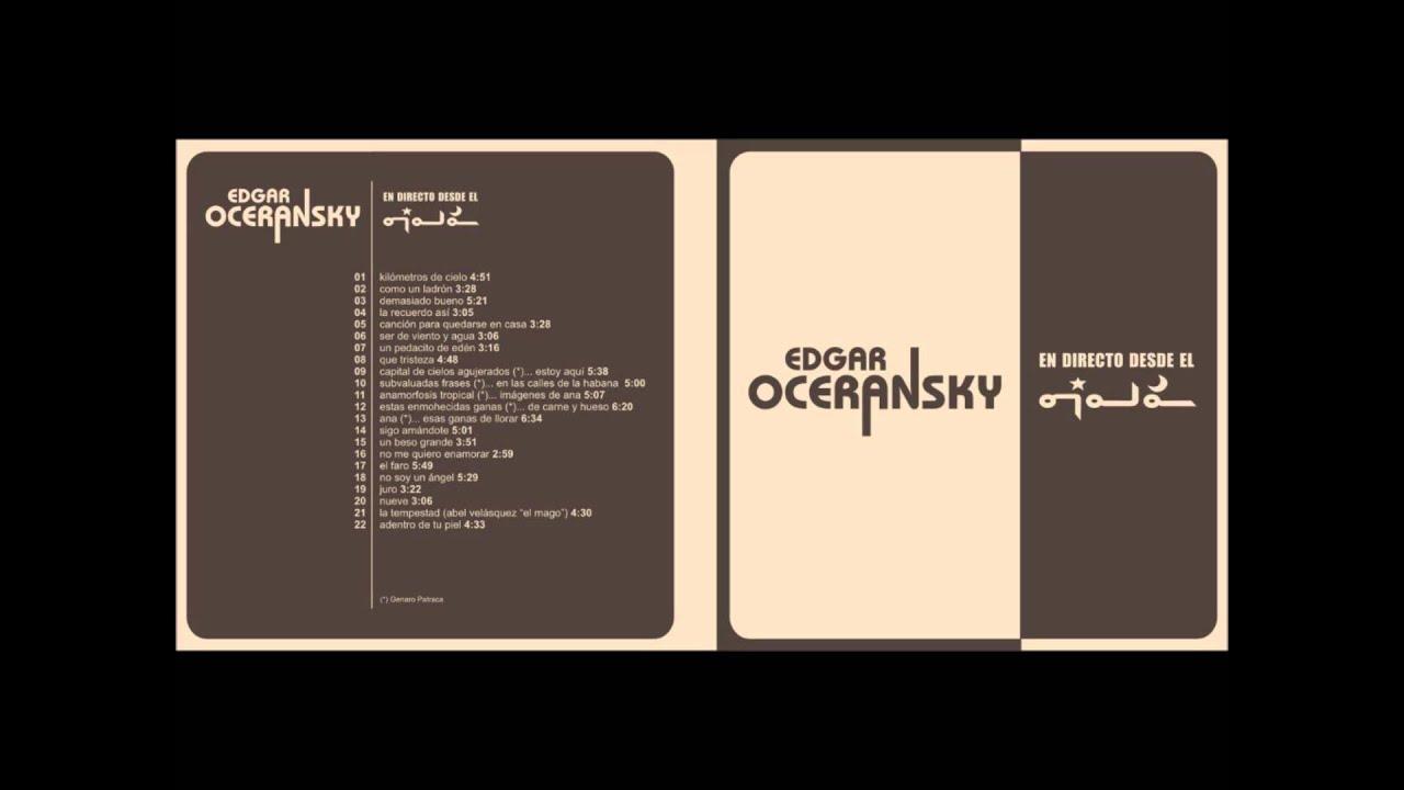 no me quiero enamorar edgar oceransky