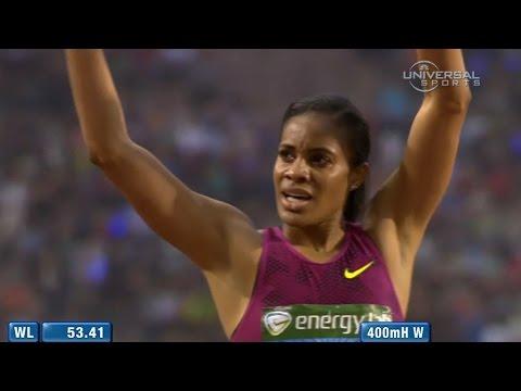 Kaliese Spencer wins 2014 Diamond League  Universal Sports