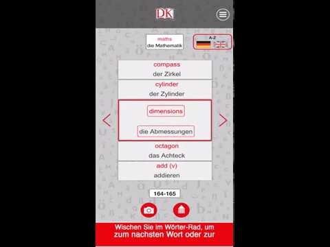 Visuelles Wörterbuch - Audio App Anleitung