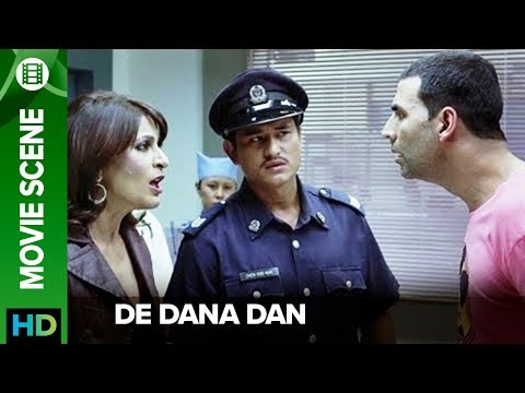 Akshay's million dollar act | De Dana Dan | Movie Scene