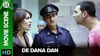Akshay's million dollar act | De Dana Dan | Movie Scene thumbnail