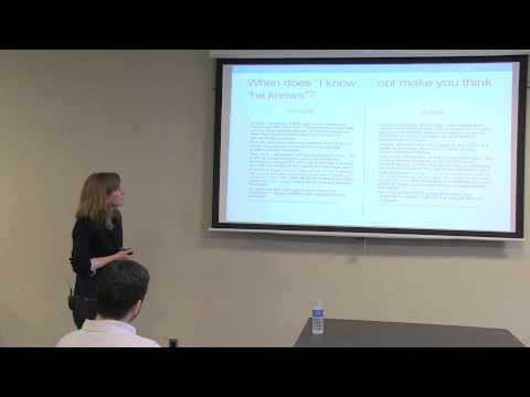 Jennifer Nagel | The Power of Stipulation