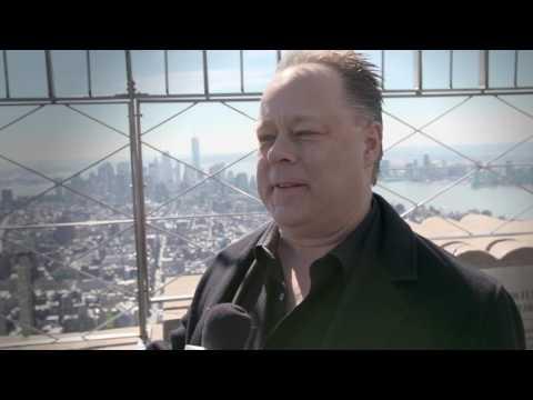 Smurfs: The Lost Village at Empire State Building Event || Kelly Asbury SoundBites || SocialNews.XYZ