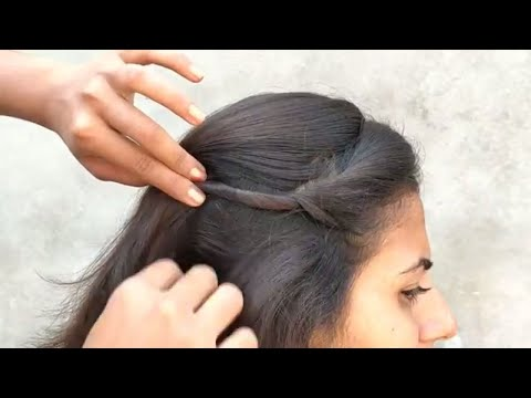 Easy Hairstyle For Everyday Use || Simple Hairstyle For Everyday thumbnail