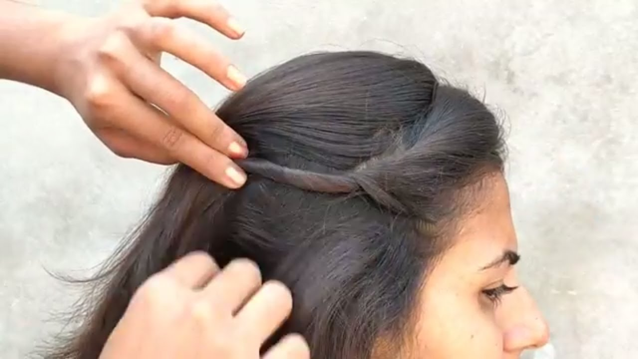 Easy Hairstyle For Everyday Use Simple Hairstyle For Everyday