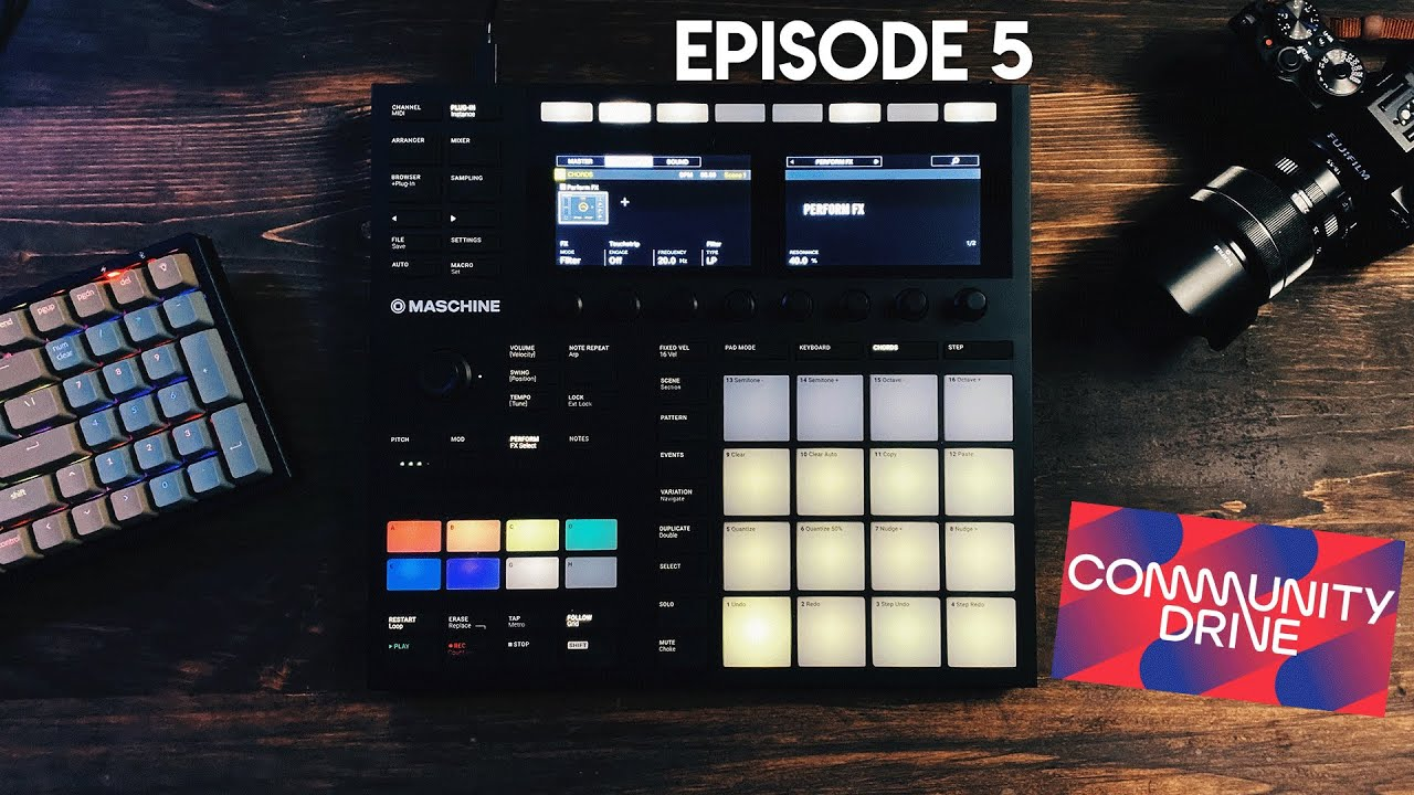 Just A Girl & Her Maschine | S3 E5 (NI COMMUNITY DRIVE)