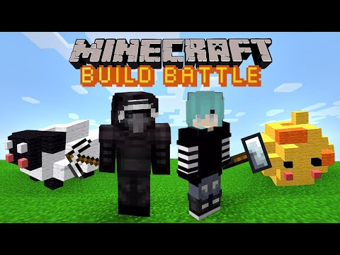 Майнкрафт батл - Строим предметы в Майнкрафт Build Battle (битва строителей)