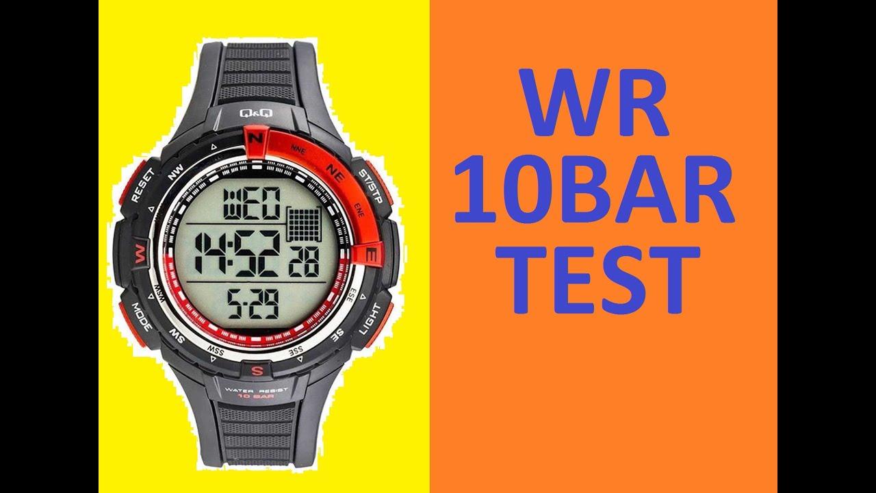 Часы q q 10 bar инструкция