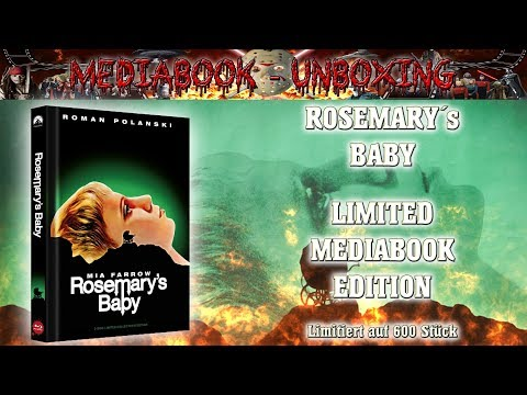 Unboxing - Rosemary´s Baby - Cover A - Mediabook - 84´Entertainment