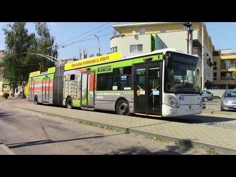 Trolleybuses in České Budějovice Trolejbusy v Českých Budějovicích O-Busse in České Budějovice