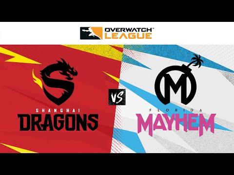 ShanghaiDragons vs FloridaMayhem - Overwatch League - Game 3