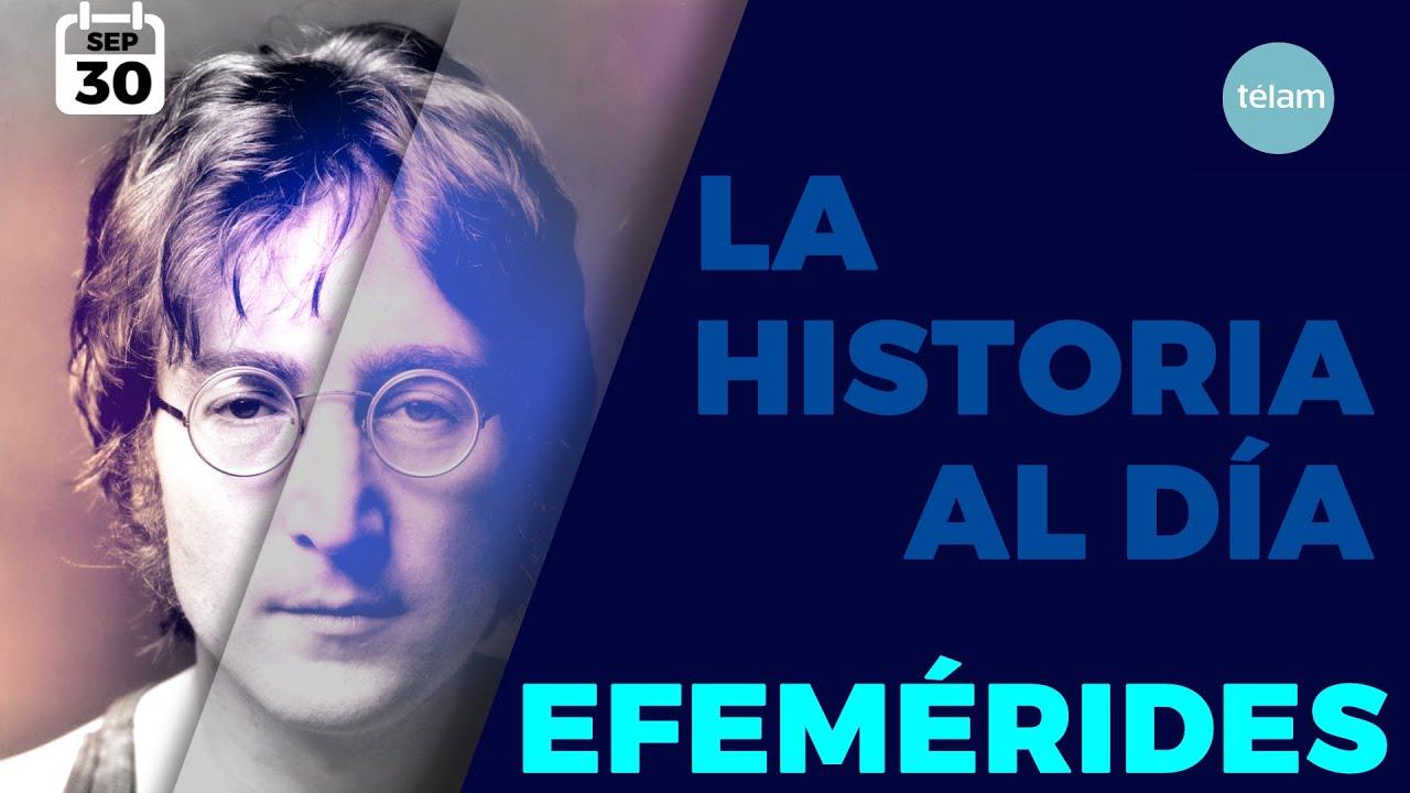LA HISTORIA AL DÍA (EFEMÉRIDES 30 SEPTIEMBRE)