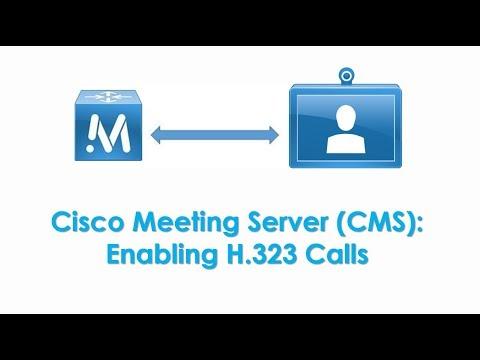 Cisco Meeting Server (CMS): Enabling H.323 Gateway & Making H.323 Calls