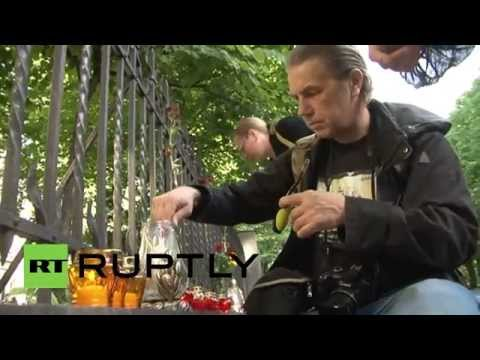 Latvia: Riga mourns 40 days since fatal Odessa blaze