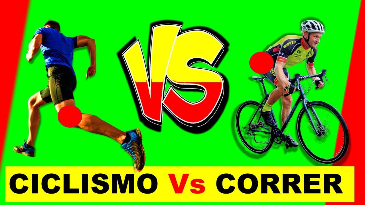 CICLISMO VS CORRER | BICICLETA VS RUNNING | VENTAJAS Y DESVENTAJAS │TrotaMontesMTB