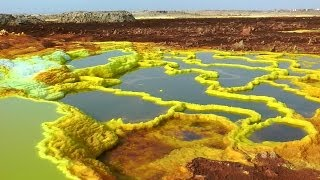 The Unearthly Scenery of Dallol, Ethiopia in HD