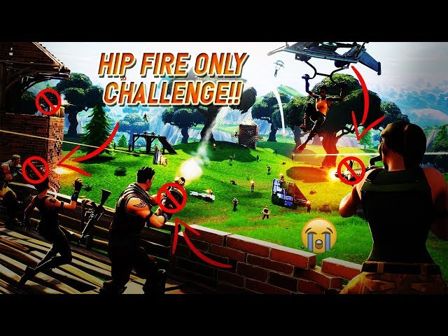 Fortnite funny moments with namstar and hip fire only challenge!?!