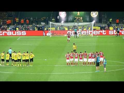DFB POKAL FINALE 2016 - FC Bayern - Borussia Dortmund - Elfmeterschießen