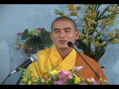 Chùa Đức Hòa. Thích Minh Thiền - Buông Xả Thân Tâm .flv