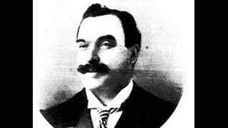 """Carlo Caffetto Sings """"Esultate! Ora e per sempre addio!"""" From Otello.     1901"""
