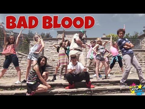 """Bad Blood"" - Taylor Swift (Cover) | Mini Pop Kids"