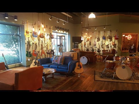 Tour of the new Moore Music store