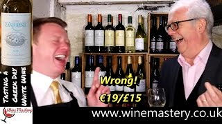 Tasting a Fantastic Santorini White Wine (Episode 56 Part 1)