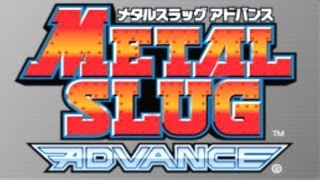 Longplay Metal Slug Advance (GBA) - Jogo Completo no Level Normal