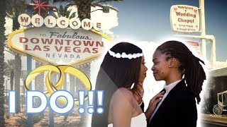 WE GOT MARRIED IN VEGAS??? | VEGAS TRIP