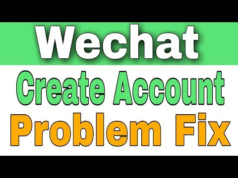 how To Fix Wechat All Registration And Login Problem - YouTube