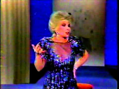 """Joan Rivers & Johnny Carson on a """"Tonight Show ..."""