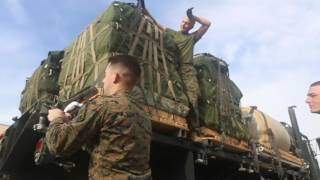 1st Transportation Support Battalion Air Delivery Drop
