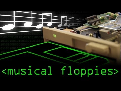 Musical Floppy Drives - Computerphile