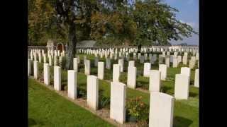 Cimetière militaire de Richebourg (st vaast post) (62)