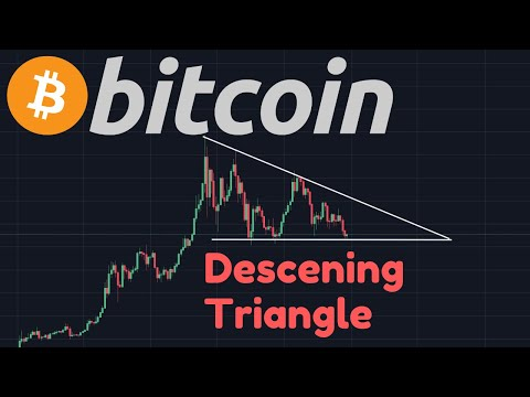 Bitcoin Descending Triangle?? | Altcoin Bubble Has Popped!! XRP Capitulation