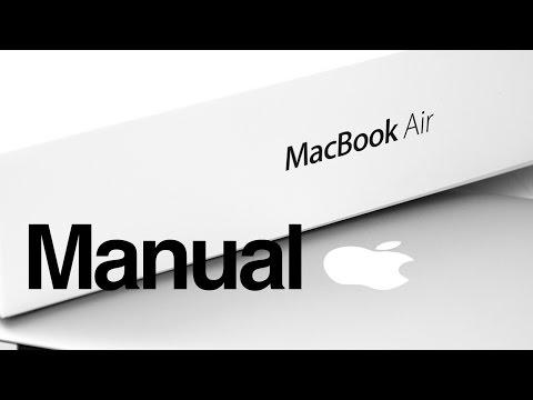 Macbook Air Basics - Mac Manual Guide for Beginners - new to mac