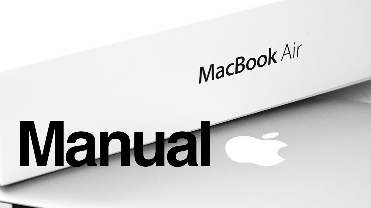 macbook air basics mac manual guide for beginners new to mac [ 1280 x 720 Pixel ]
