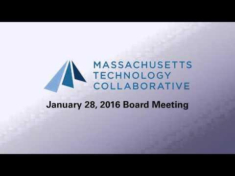 Massachusetts Technology Collaborative Board Meeting