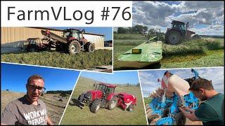 FarmVLOG#76: Kürbisse säen, Heu pressen und 2.Schnitt