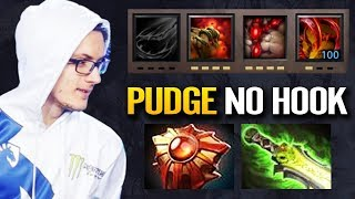 Miracle- Top 10k mmr Play Pudge With No Hook - 7.22g Pudge new Meta Dota 2